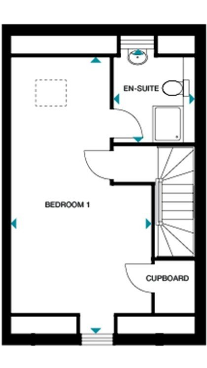 Wg osbourne floorplan second
