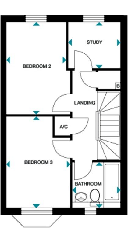 Wg osbourne floorplan first
