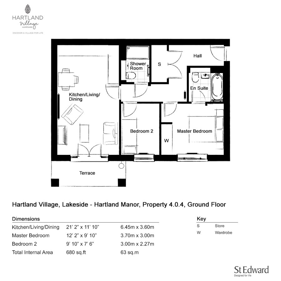 J600 0099 2 floorplan ground floor