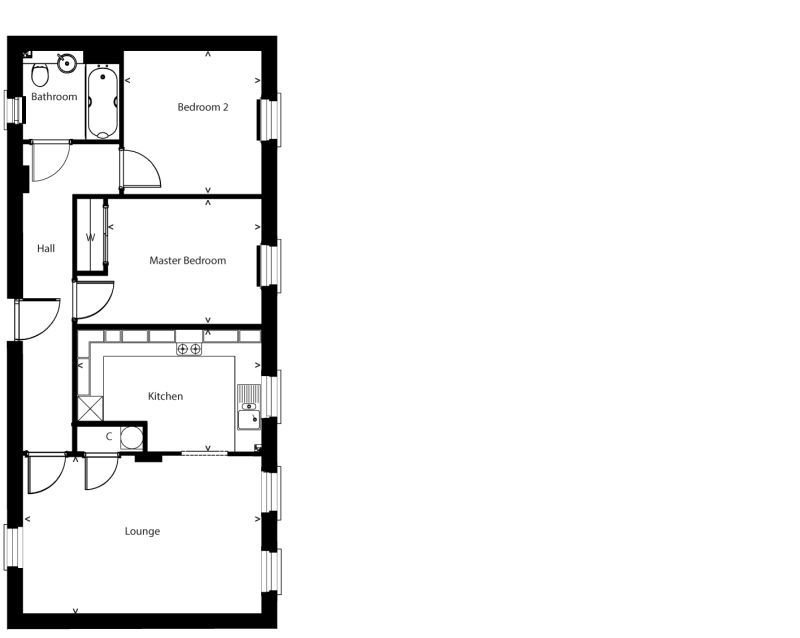 Floorplan plot-4a
