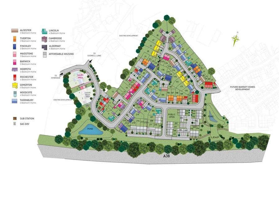 Lucerne Fields Ivybridge New Homes By Barratt Homes