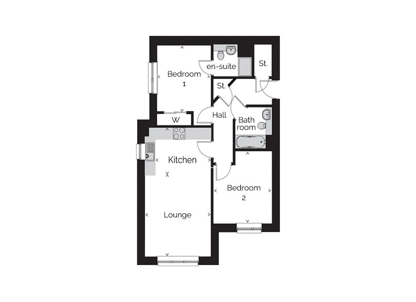 Rivergate-apartment typea floorplan