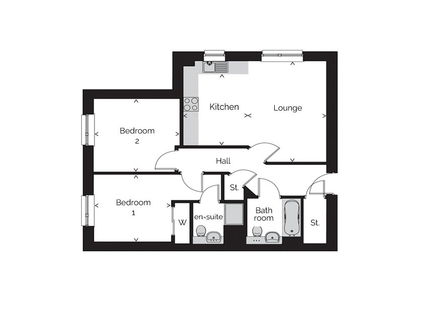 Rivergate-apartment typeb floorplan