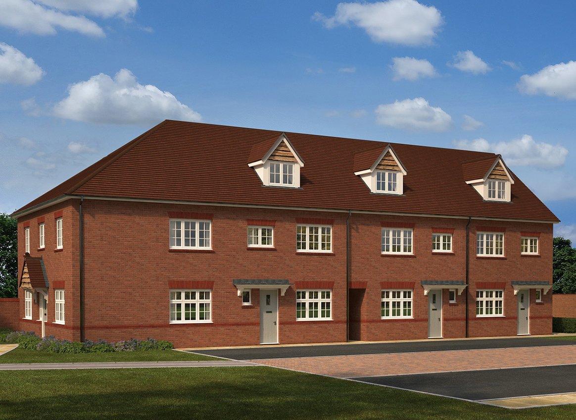 Regent Quay Sittingbourne Sittingbourne New Homes By Redrow