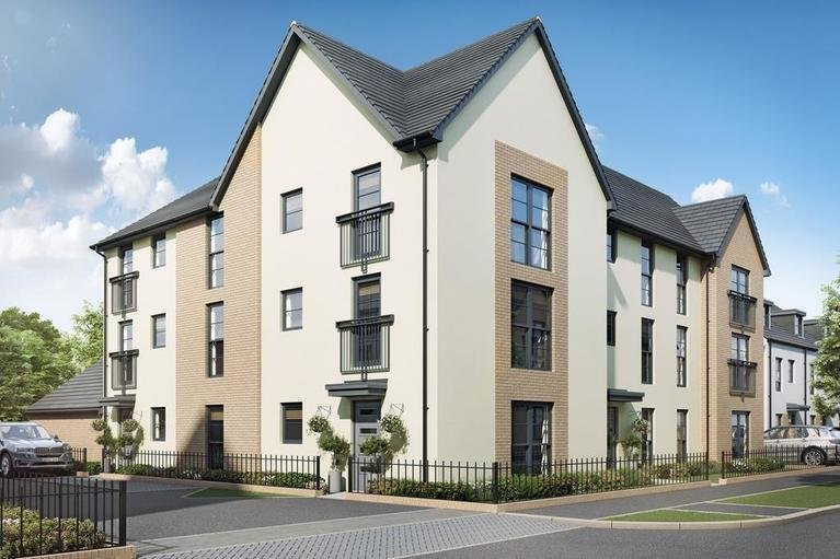 Loughton-hornsea-coleford apartment block d - plots 161-169