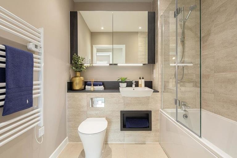Opt2 1-bed bathroom